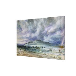 Old Sarum Canvas Print