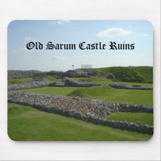 Old Sarum Castle Ruins Mouse Pad