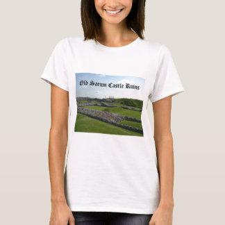 Old Sarum Castle Ruins T-Shirt