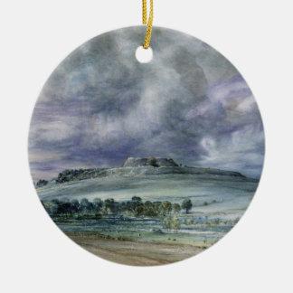 Old Sarum Ceramic Ornament
