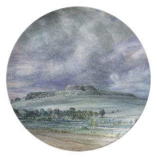 Old Sarum Melamine Plate