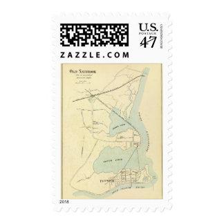 Old Saybrook Postage Stamp