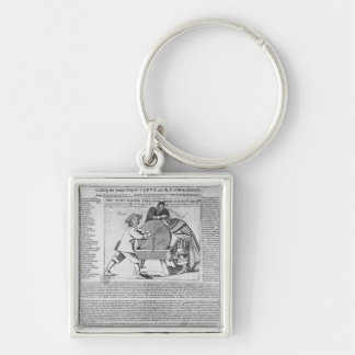 Old Sayings and Predictions Keychain