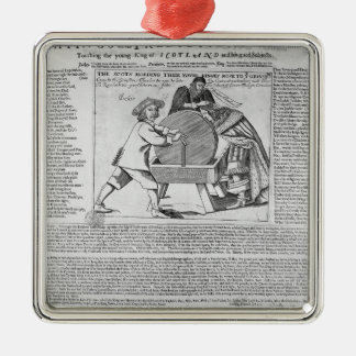Old Sayings and Predictions Metal Ornament