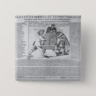 Old Sayings and Predictions Pinback Button