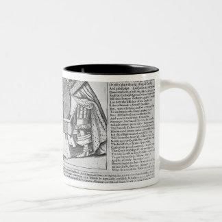 Old Sayings and Predictions Two-Tone Coffee Mug