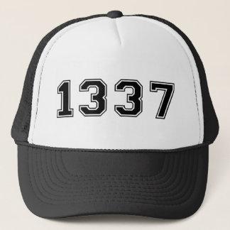 Old-School 1337 Trucker Hat