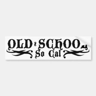 OLD SCHOOL  1 STICKER