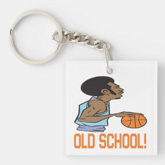 Old School 2 Keychain
