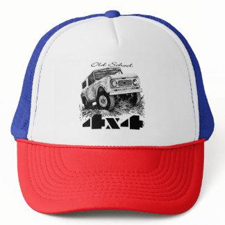 Old School 4x4 Trucker Hat