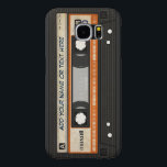 "Old School 80s DJ Music Cassette Tape Pattern Samsung Galaxy S6 Case<br><div class=""desc"">Old School 80s DJ Music Cassette Tape Pattern - Pretty Cool and Unique Personalized Samsung GALAXY S6 Case for you.</div>"
