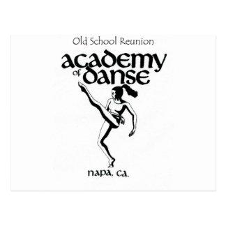 Old School Academy of Dance Reunion Postcard