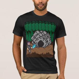 Old School Arcade 8bit Ninja Video Game T-Shirts
