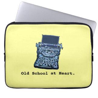 Old School at Heart Sleeve Computer Sleeve