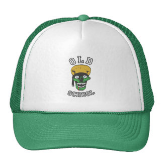 old school badass mesh hats