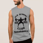 Old School Barbell Club Squat Apparel for Lifters Tees