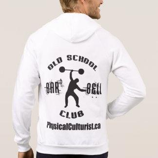 Old School Barbell Club Hooded Sweatshirt