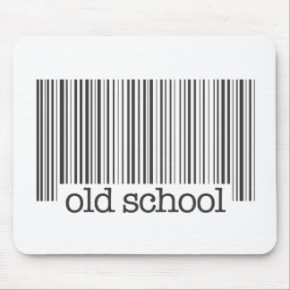 Old School Barcode Mouse Pad