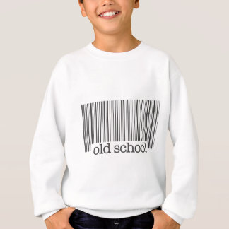 Old School Barcode Sweatshirt