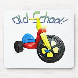 Old School, Big Wheel Mouse Pad