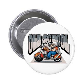 Old School Biker Buttons