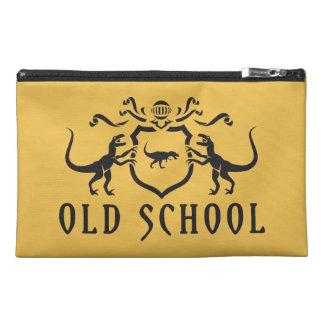 Old School Black Design Travel Accessories Bag
