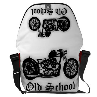 Old School Bobber Courier Bag