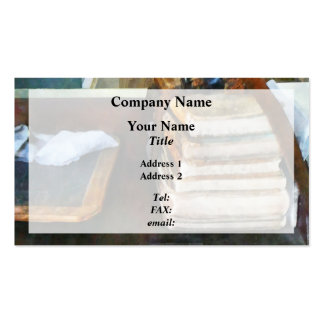 Old School Books and Slate Double-Sided Standard Business Cards (Pack Of 100)