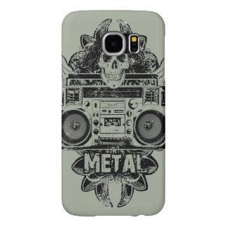 Old School Boombox METAL! Phone Case