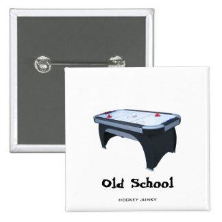 Old School 2 Inch Square Button