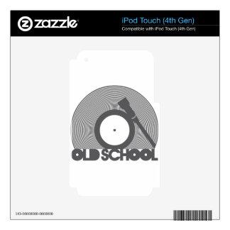 OLD_SCHOOL CALCOMANÍA PARA iPod TOUCH 4G