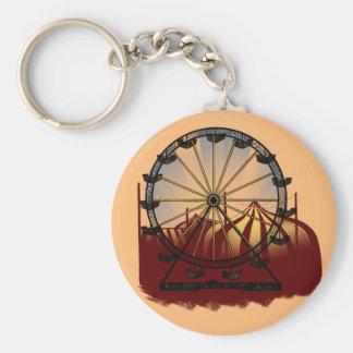 Old School Carnival Ferris Wheel Keychain