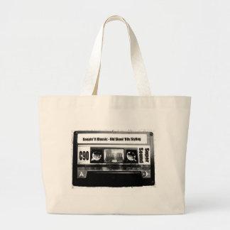 Old School Cassette Canvas Bag