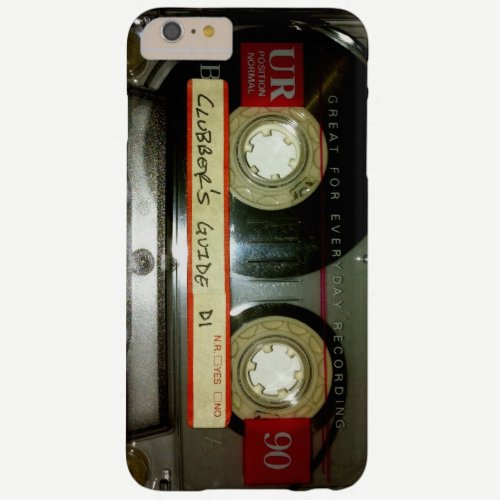 Old School Cassette Tape Barely There iPhone 6 Plus Case