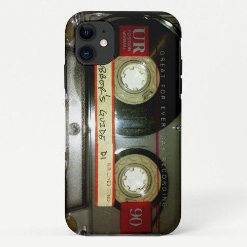 Old School Cassette Tape iPhone 11 Case
