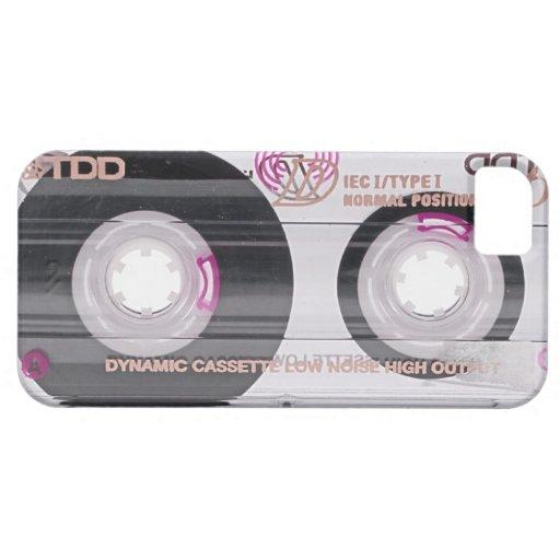 Old school cassette tape iPhone SE/5/5s case