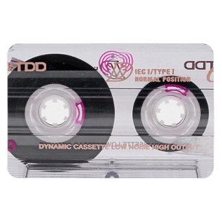 Old school cassette tape magnet