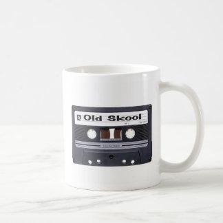 Old School Cassette Tape Classic White Coffee Mug