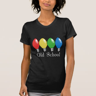 Old School Christmas Tree Lights T-Shirt
