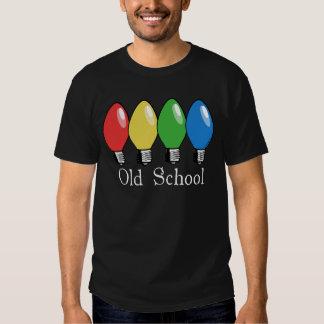 Old School Christmas Tree Lights T-Shirt