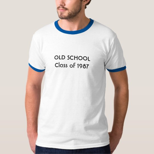 OLD SCHOOL Class of 1987 T-Shirt