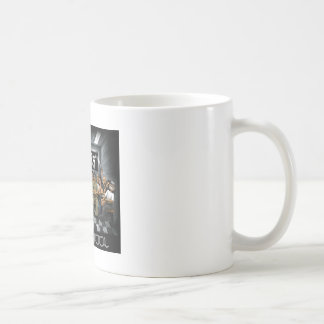 Old School Classic White Coffee Mug