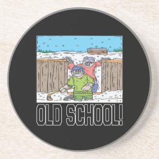 Old School Beverage Coaster