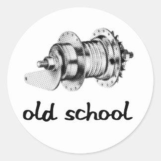 Old School Coaster Hub Sticker