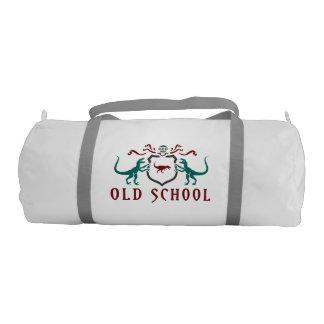 Old School Color Dinosaur Gym Bag