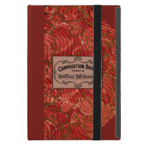 Old School Composition Notebook Case For iPad Mini