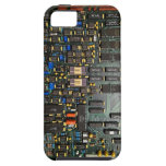 Old School Computer Board *powers* your iphone iPhone 5 Cases
