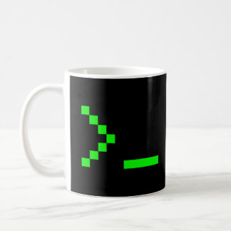 Old School Computer Text Input Prompt Coffee Mug