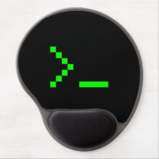 Old School Computer Text Input Prompt Gel Mouse Mat