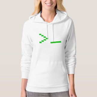 Old School Computer Text Input Prompt Hoodie